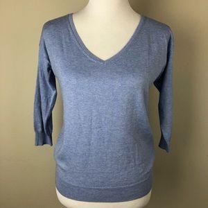Banana Republic Silk Blend 3/4 Sleeve Sweater sz S